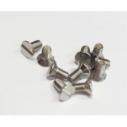 Screw DIN963-M3x6-A2